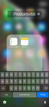 Apple iPhone XS Max - Startanleitung - Personalisieren der Startseite - Schritt 7