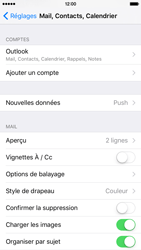 Apple iPhone 6s - E-mail - Configuration manuelle (outlook) - Étape 9