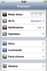 Apple iPhone 4 - Internet - activer ou désactiver - Étape 3