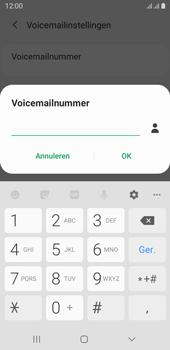 Samsung galaxy-j6-sm-j600fn-ds-android-pie - Voicemail - Handmatig instellen - Stap 10