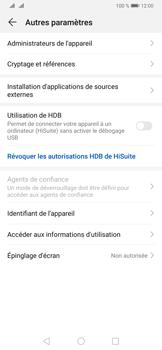 Huawei P30 Pro - Sécuriser votre mobile - Personnaliser le code PIN de votre carte SIM - Étape 5