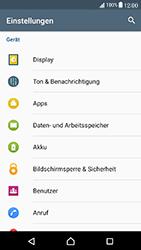 Sony Xperia X Compact - Apps - Eine App deinstallieren - Schritt 4