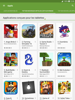 Samsung Galaxy Tab A - Applications - Télécharger une application - Étape 10