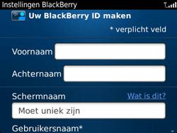 BlackBerry 9360 Curve - BlackBerry activeren - BlackBerry ID activeren - Stap 8