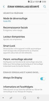 Samsung Galaxy A8 - Sécuriser votre mobile - Activer le code de verrouillage - Étape 12