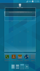 Samsung G850F Galaxy Alpha - Prise en main - Installation de widgets et d