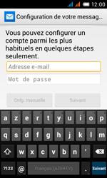 Alcatel One Touch Pop C3 - E-mail - configuration manuelle - Étape 13