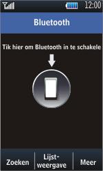 Samsung S5620 Monte - bluetooth - aanzetten - stap 4