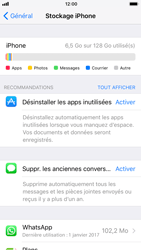 Apple iPhone 6s iOS 11 - Applications - Comment désinstaller une application - Étape 5