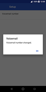 ZTE Blade V9 - Voicemail - Manual configuration - Step 11