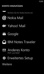Nokia Lumia 1020 - E-Mail - Manuelle Konfiguration - Schritt 7