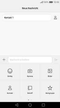 Huawei P9 Plus - MMS - Erstellen und senden - Schritt 11