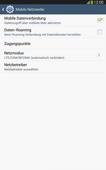 Samsung Galaxy Tab 3 8-0 LTE - Netzwerk - Netzwerkeinstellungen ändern - 6 / 8
