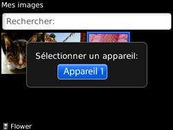 BlackBerry 8520 - Photos, vidéos, musique - Envoyer une photo via Bluetooth - Étape 9