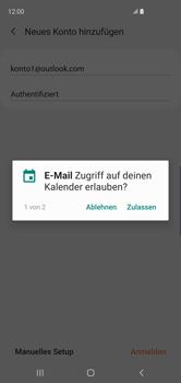 Samsung Galaxy S10 - E-Mail - Konto einrichten (outlook) - 11 / 16