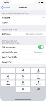 Apple iPhone XR - E-Mail - Konto einrichten - 25 / 30
