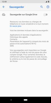 Google Pixel 3 - Aller plus loin - Gérer vos données depuis le portable - Étape 9
