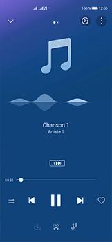 Huawei P40 - Photos, vidéos, musique - Ecouter de la musique - Étape 11