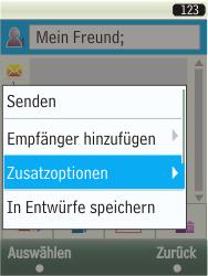 Samsung TouchWiz - MMS - Erstellen und senden - 13 / 25