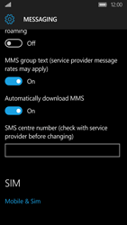 Acer Liquid M330 - SMS - Manual configuration - Step 6