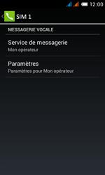 Alcatel OT-4033X Pop C3 - Messagerie vocale - configuration manuelle - Étape 10