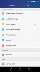 Huawei Y6 - Device - Factory reset - Step 4