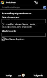 Samsung B7610 Omnia Qwerty - E-mail - e-mail instellen: POP3 - Stap 12