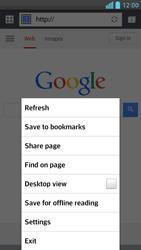 LG D505 Optimus F6 - Internet - Internet browsing - Step 16