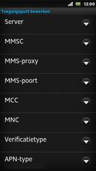 Sony ST25i Xperia U - MMS - Handmatig instellen - Stap 10