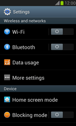 Samsung Galaxy S III Mini - WiFi - WiFi configuration - Step 4