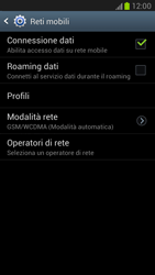 Samsung Galaxy Note II - Rete - Selezione manuale della rete - Fase 6