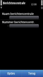Nokia N8-00 - SMS - handmatig instellen - Stap 8