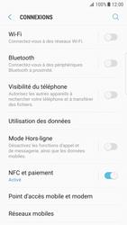 Samsung Galaxy S7 Edge - Android N - Internet et roaming de données - Comment vérifier que la connexion des données est activée - Étape 5