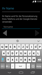 Huawei Ascend P6 - Apps - Einrichten des App Stores - Schritt 4