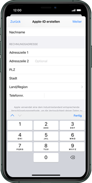 Apple iPhone XS - iOS 13 - Apps - Einrichten des App Stores - Schritt 19