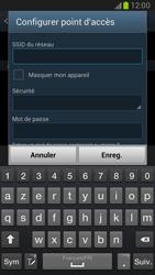 Samsung Galaxy Note 2 - Internet et connexion - Partager votre connexion en Wi-Fi - Étape 8