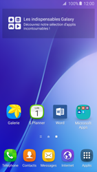 Samsung Galaxy A5 (2016) (A510F) - Prise en main - Installation de widgets et d
