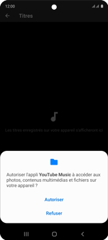 Samsung Galaxy A51 - Photos, vidéos, musique - Ecouter de la musique - Étape 7