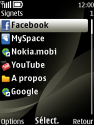 Nokia 6303 classic - Internet - navigation sur Internet - Étape 11