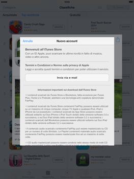 Apple iPad mini iOS 7 - Applicazioni - Configurazione del negozio applicazioni - Fase 9