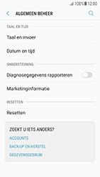 Samsung Galaxy A5 (2016) - Android Nougat - toestel resetten - fabrieksinstellingen terugzetten - stap 5