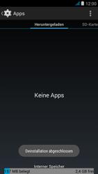 Wiko jimmy - Apps - Eine App deinstallieren - Schritt 8
