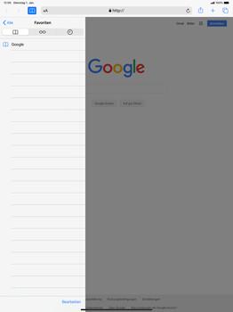 Apple iPad Pro 12.9 (1st gen) - ipados 13 - Internet und Datenroaming - Verwenden des Internets - Schritt 10