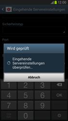 Samsung Galaxy S III LTE - E-Mail - Manuelle Konfiguration - Schritt 10