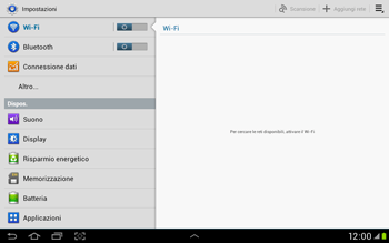 Samsung Galaxy Tab 2 10.1 - Bluetooth - Collegamento dei dispositivi - Fase 4