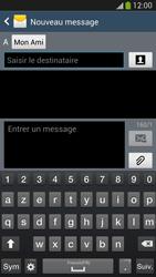 Samsung Galaxy S4 - Contact, Appels, SMS/MMS - Envoyer un MMS - Étape 9