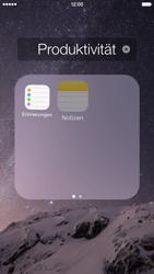 Apple iPhone 6 iOS 8 - Startanleitung - Personalisieren der Startseite - Schritt 5