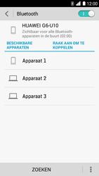 Huawei Ascend G6 - bluetooth - headset, carkit verbinding - stap 6
