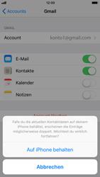 Apple iPhone 6s - Kontakte - Sicherheitskopie des Geräts mit OS-Konto erstellen - 2 / 2