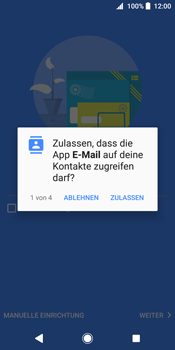 Sony Xperia XZ2 - E-Mail - Konto einrichten (outlook) - 10 / 19